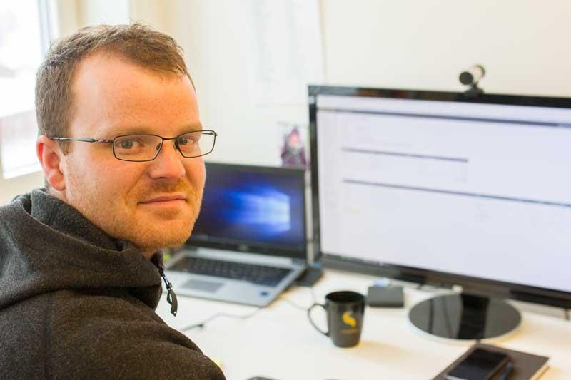 Tom Hugstmyr är ekonomichef hos SmartDok