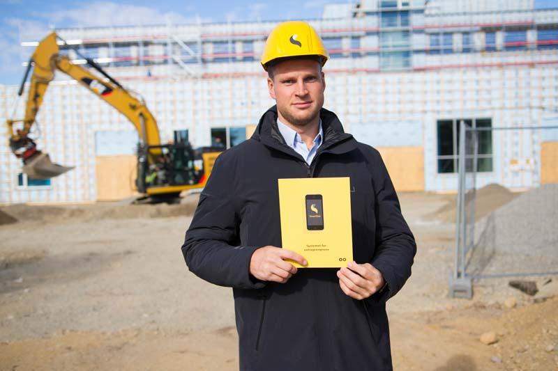SmartDok har alltid hatt som vision att göra saker smart och enkelt, sier Steffen Nerdal i SmartDok. Foto: Lasse Sørnes