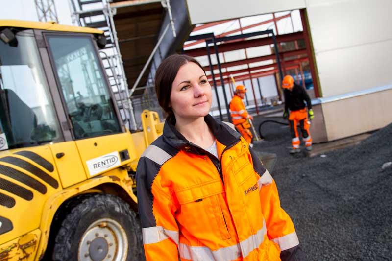HR-chef Sarah Hector på Kanonaden